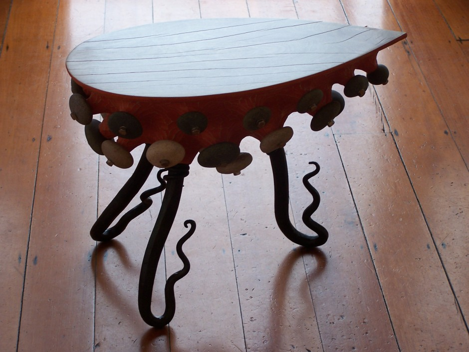 nudibranch side table