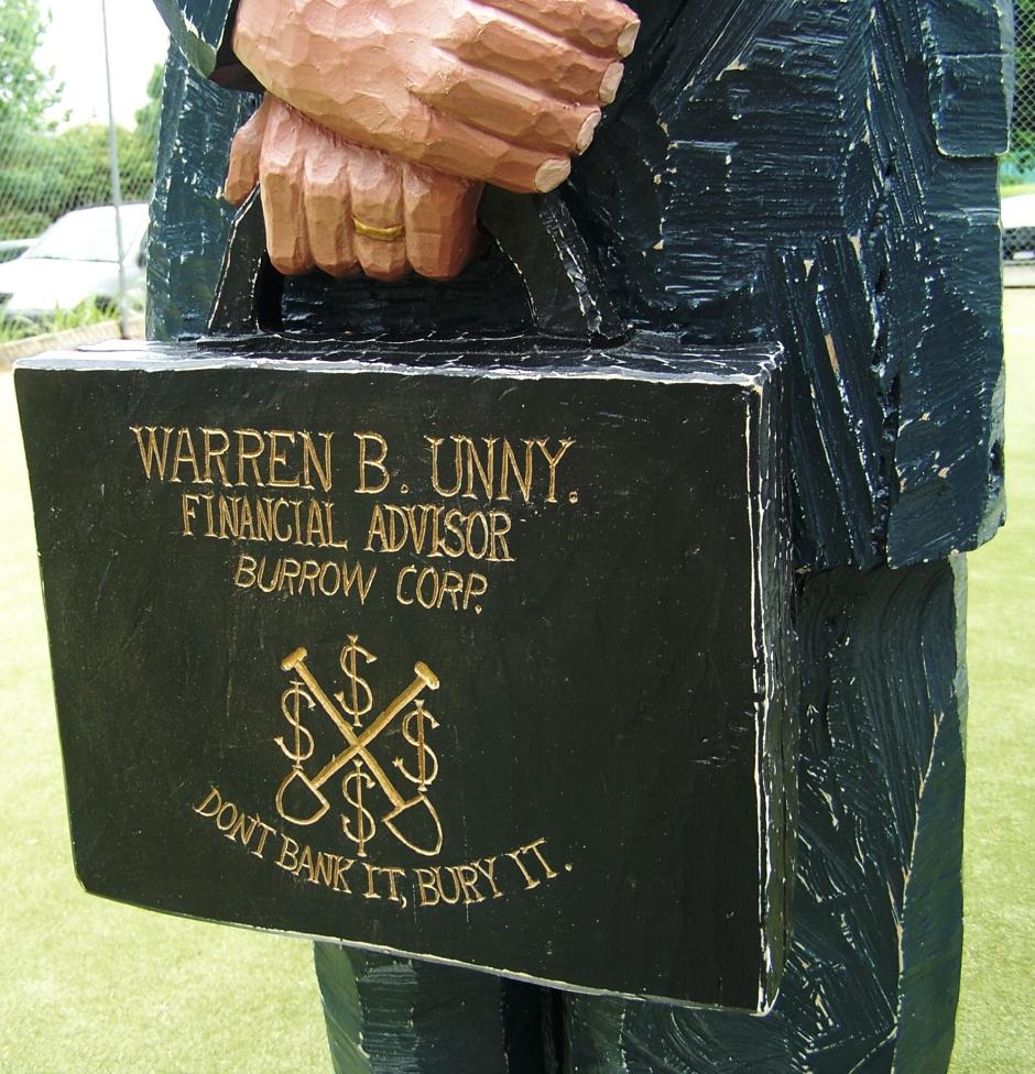 Mr Warren B Unny detail