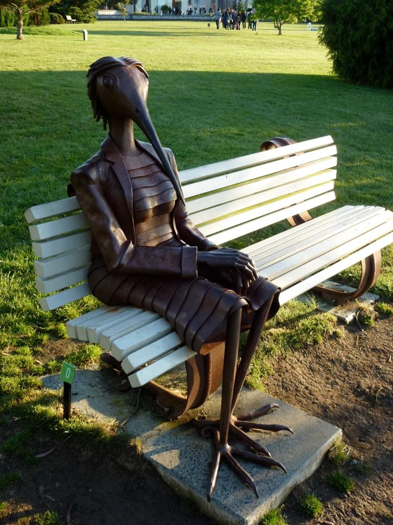 Bird Lady, Auckland Botanic Gardens
